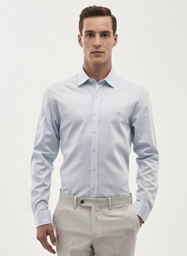 Beymen Business Slim Fit Uzun Kollu Gömlek Mavi